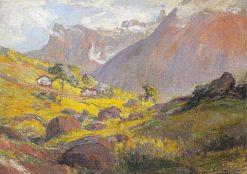 Landscape | Lucilio de Albuquerque | Oil Painting