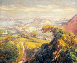 View of Rio de Janeiro | Lucilio de Albuquerque | Oil Painting