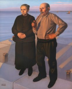 Fishermen | Natalino Bentivoglio Scarpa | Oil Painting