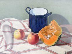 Still Life with Pumpkin | Natalino Bentivoglio Scarpa | Oil Painting