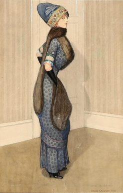 A noble woman | Gerda Wegener | Oil Painting