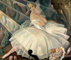 The Ballerina Ulla Poulsen in the Ballet Chopiniana