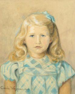 Portrait of a Girl | Gerda Wegener | Oil Painting