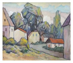 Breton Village | Ion Theodorescu-Sion | Oil Painting