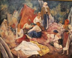Peasant Women   Ion Theodorescu-Sion   Oil Painting