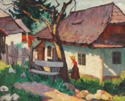 Cottages | Ion Theodorescu-Sion | Oil Painting