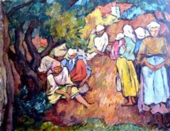 Peasants | Ion Theodorescu-Sion | Oil Painting