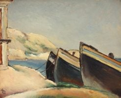 Boats | Ion Theodorescu-Sion | Oil Painting