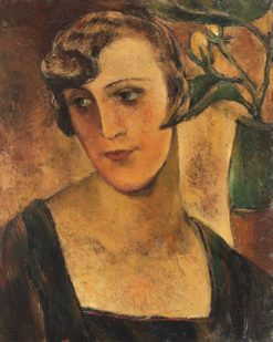 The Actress   Ion Theodorescu-Sion   Oil Painting