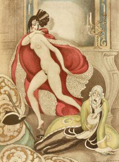 Sur Talons Rouges   Gerda Wegener   Oil Painting