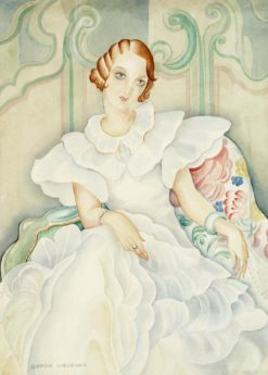 Portrait of Brigitte Bergman | Gerda Wegener | Oil Painting
