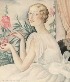 Portrait of a Young Woman | Gerda Wegener | Oil Painting