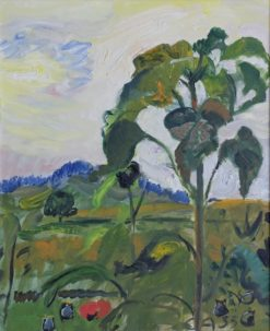Sunflowers (also known as Garden in Oschwand) | Cuno Amiet | Oil Painting