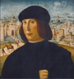 Portrait of a Man | Italian School th Century Unknown | Oil Painting