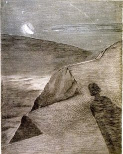 The Cliff to the North | Paul Nash | Oil Painting