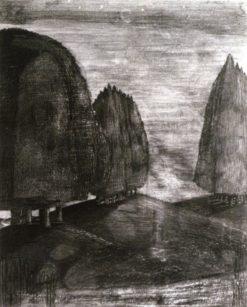 Night Landscape   Paul Nash   Oil Painting