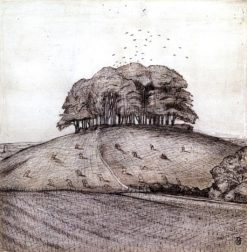 The Wood on the Hill | Paul Nash | Oil Painting