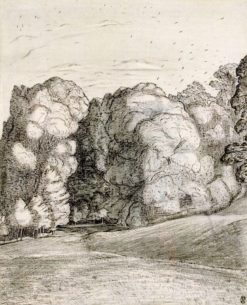 Under the Hill | Paul Nash | Oil Painting