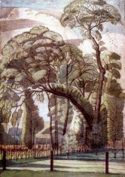 The Elms | Paul Nash | Oil Painting