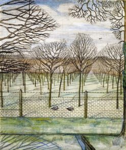 The Cherry Orchard | Paul Nash | Oil Painting