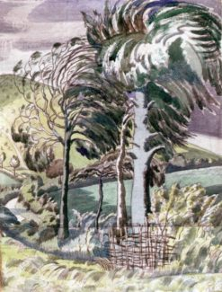 Wind in the Beeches | Paul Nash | Oil Painting