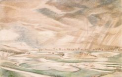 A Rainy Day | Paul Nash | Oil Painting