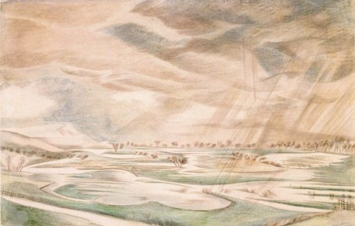 A Rainy Day | Paul Nash | Oil Painting