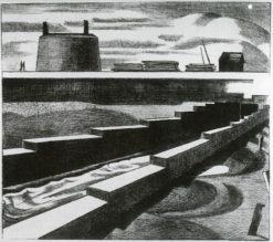 The Sluice | Paul Nash | Oil Painting