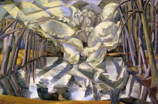 Chestnut Waters   Paul Nash   Oil Painting