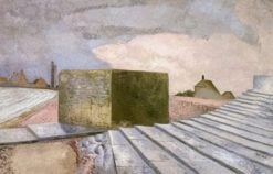 Dymchurch Steps | Paul Nash | Oil Painting