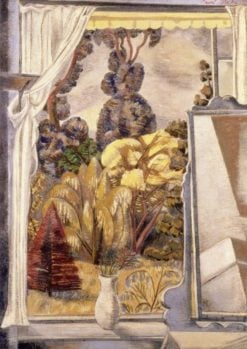 Mirror and Windoq   Paul Nash   Oil Painting