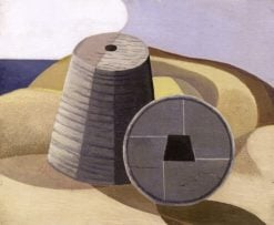 Mineral Objects   Paul Nash   Oil Painting