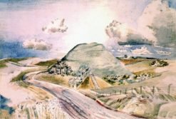 Silbury Hill   Paul Nash   Oil Painting