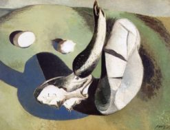 Landscape of Bleached Objects | Paul Nash | Oil Painting