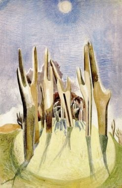 Wood on the Hill | Paul Nash | Oil Painting