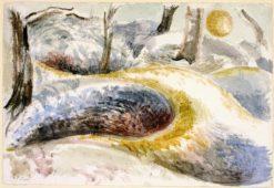 Landscape at Pen Pits | Paul Nash | Oil Painting