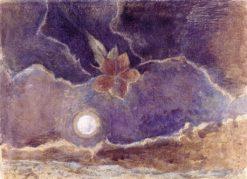 Nocturnal Flower   Paul Nash   Oil Painting