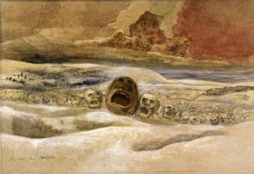 Follow the Führer over the Snows | Paul Nash | Oil Painting