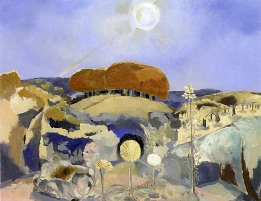 Landscape of the Summer Stolstice | Paul Nash | Oil Painting
