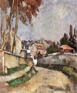 House by the Path | Paul Cézanne | Oil Painting