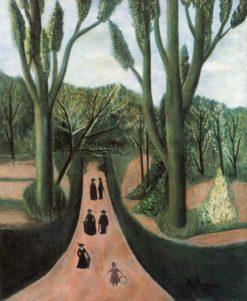The Alley in Parc Montsouris | Henri Rousseau | Oil Painting