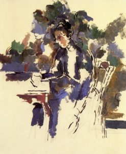 Seated Woman | Paul Cézanne | Oil Painting