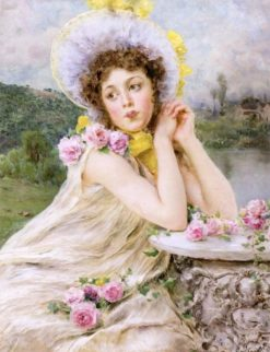 Lost in Thought | Federico Andreotti | Oil Painting