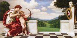 The Education of Cupid | Kenyon Cox | Oil Painting