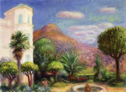 Garden at Les Pivoines | William Glackens | Oil Painting