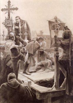 Alvaro de Luna | Alfons Mucha | Oil Painting