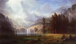 Mount Whitney | Albert Bierstadt | Oil Painting