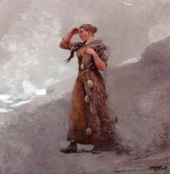 The Fisher Girl | Winslow Homer | Oil Painting