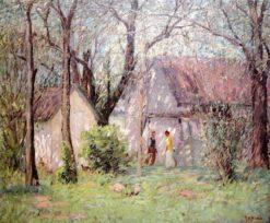 The Spring House   Rae Sloan Bredin   Oil Painting