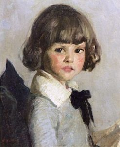 Baby Barbara   Rae Sloan Bredin   Oil Painting